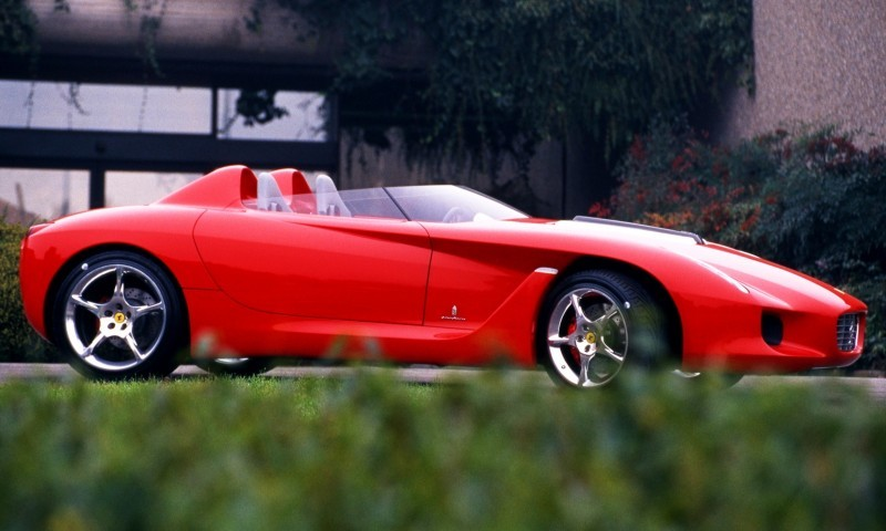 Concept Flashback - 2000 Ferrari Rossa Concept Speedster Influences Corvette, NC2020 and F12 TRS 2