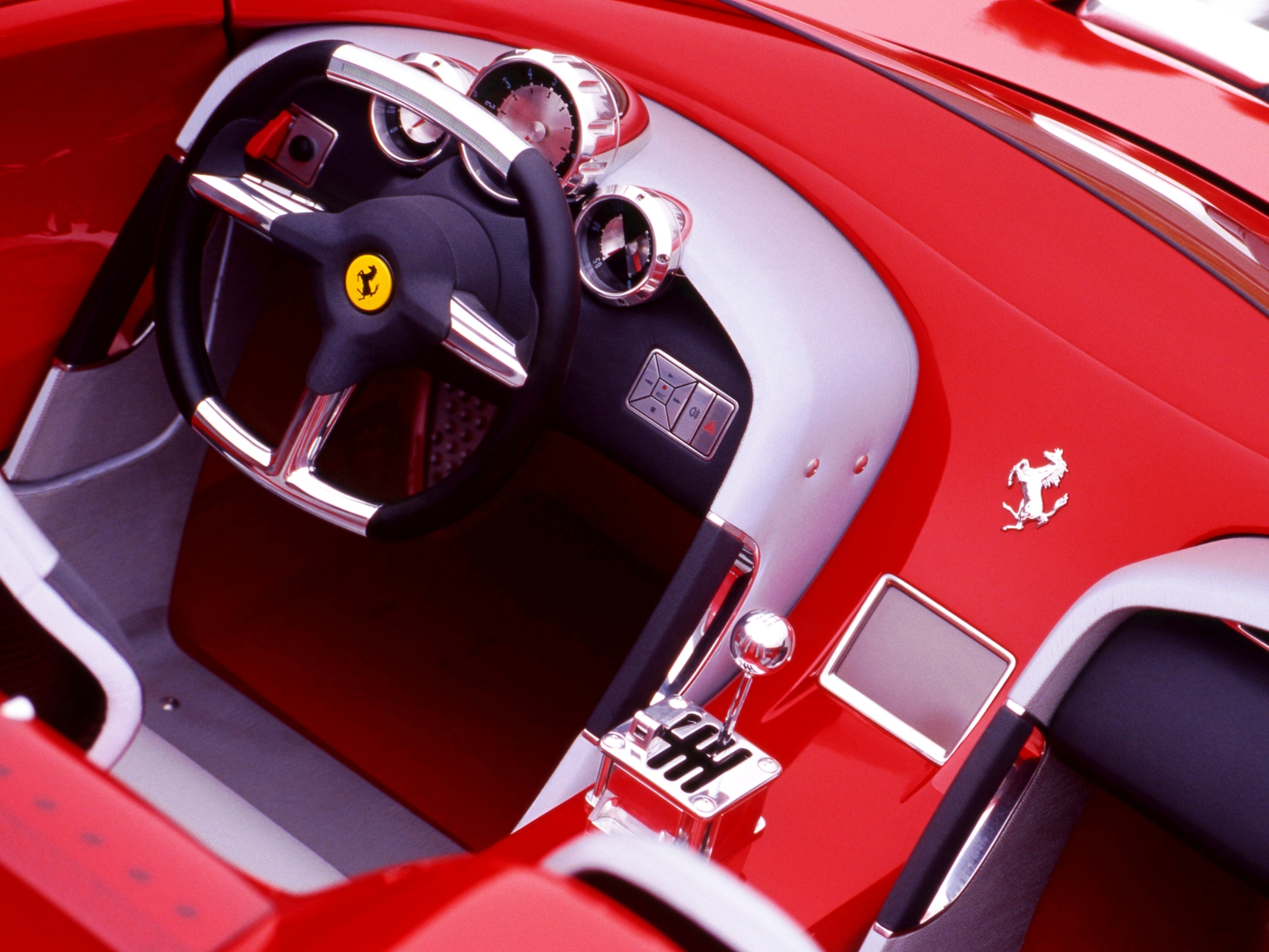 Concept Flashback 2000 Ferrari Rossa Concept Speedster