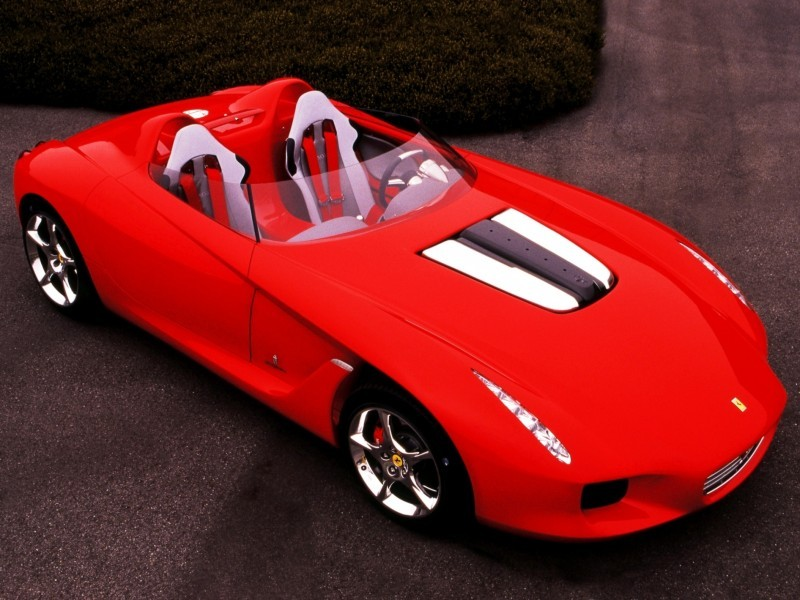 Concept Flashback - 2000 Ferrari Rossa Concept Speedster Influences Corvette, NC2020 and F12 TRS 4