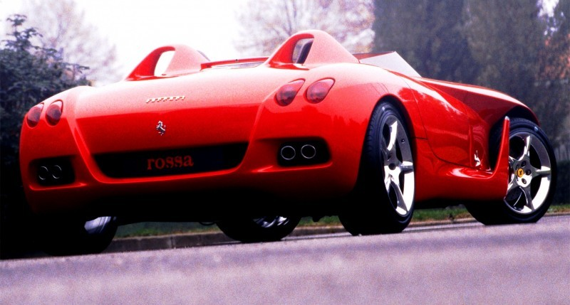Concept Flashback - 2000 Ferrari Rossa Concept Speedster Influences Corvette, NC2020 and F12 TRS 6