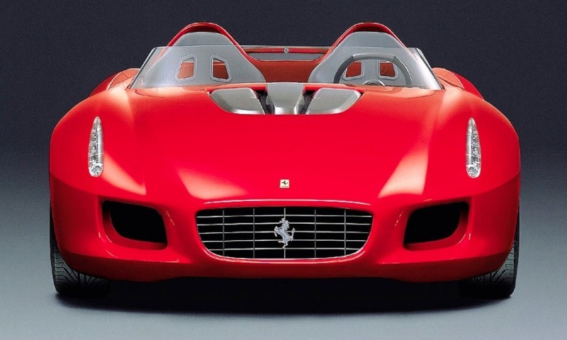 Concept Flashback - 2000 Ferrari Rossa Concept Speedster Influences Corvette, NC2020 and F12 TRS 8