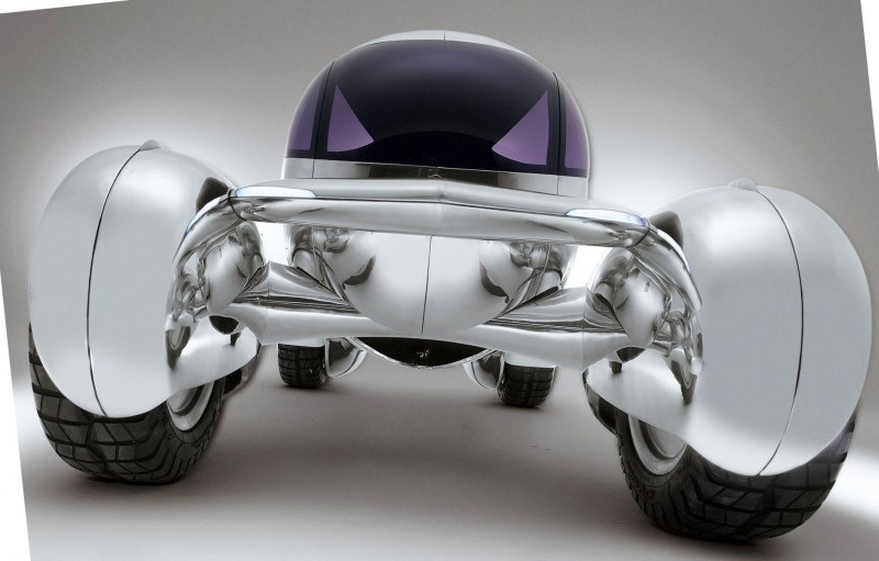 Concept Flashback - 2001 Peugeot Moonster Is Nuclear Fuel-Cell Lunar Lander 2