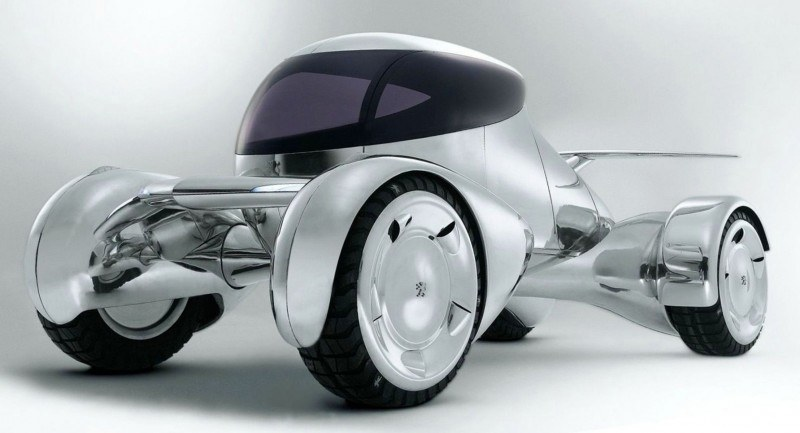 Concept Flashback - 2001 Peugeot Moonster Is Nuclear Fuel-Cell Lunar Lander 4