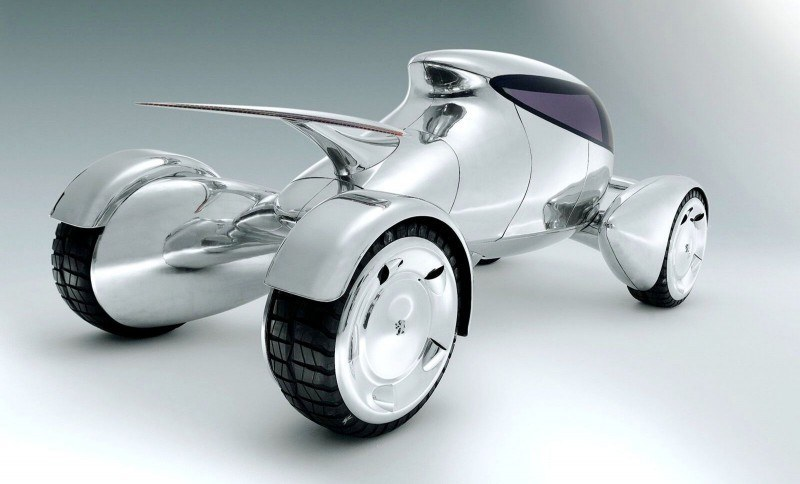 Concept Flashback - 2001 Peugeot Moonster Is Nuclear Fuel-Cell Lunar Lander 8