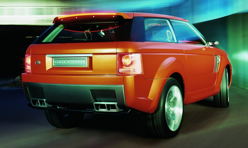 Concept Flashback - 2004 RANGE STORMER Previews High-Design SUV Supercars 11