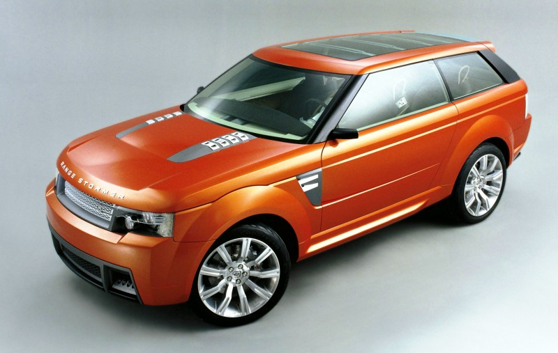 Concept Flashback - 2004 RANGE STORMER Previews High-Design SUV Supercars 12
