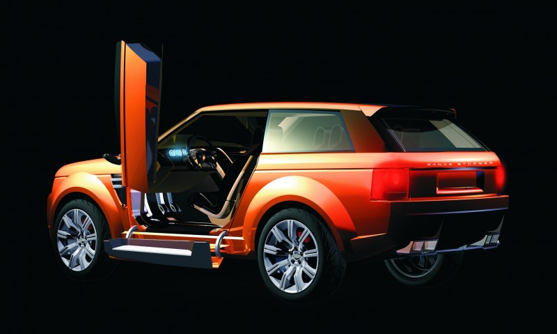 Concept Flashback - 2004 RANGE STORMER Previews High-Design SUV Supercars 18