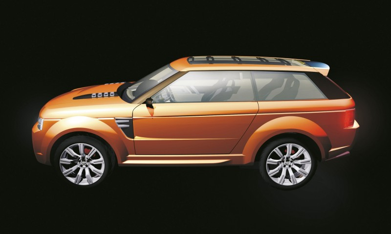 Concept Flashback - 2004 RANGE STORMER Previews High-Design SUV Supercars 2