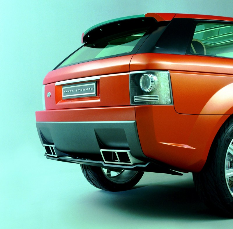 Concept Flashback - 2004 RANGE STORMER Previews High-Design SUV Supercars 6