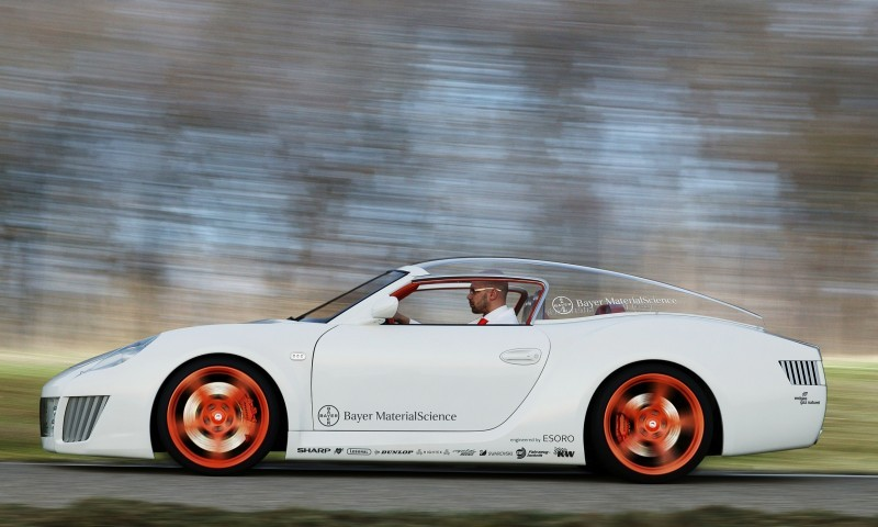 Concept Flashback - 2006 RINSPEED ZaZen is Porsche 911 with Clear Bubble Hardtop 10