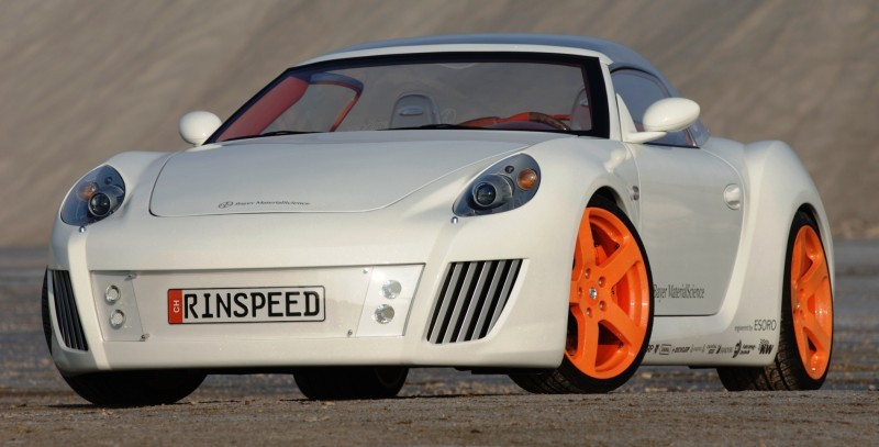 Concept Flashback - 2006 RINSPEED ZaZen is Porsche 911 with Clear Bubble Hardtop 18