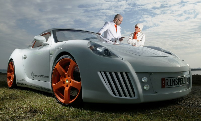 Concept Flashback - 2006 RINSPEED ZaZen is Porsche 911 with Clear Bubble Hardtop 19