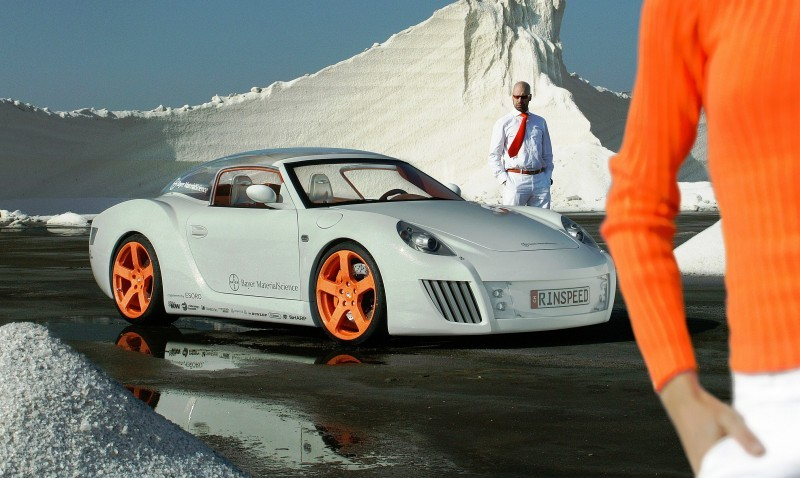Concept Flashback - 2006 RINSPEED ZaZen is Porsche 911 with Clear Bubble Hardtop 26