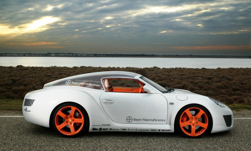 Concept Flashback - 2006 RINSPEED ZaZen is Porsche 911 with Clear Bubble Hardtop 31