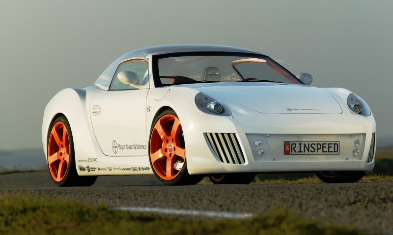 Concept Flashback - 2006 RINSPEED ZaZen is Porsche 911 with Clear Bubble Hardtop 34