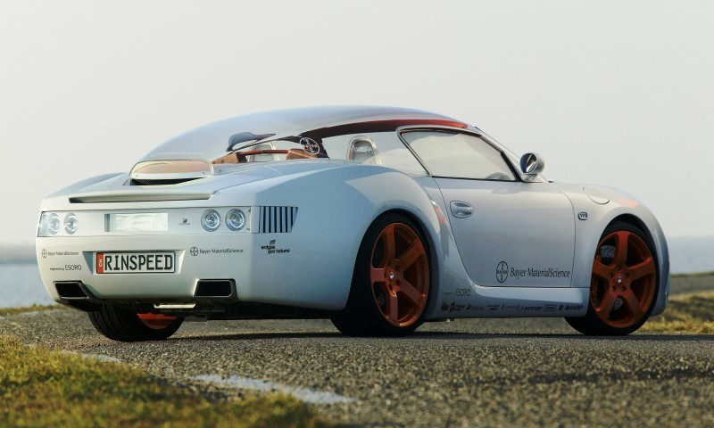 Concept Flashback - 2006 RINSPEED ZaZen is Porsche 911 with Clear Bubble Hardtop 35