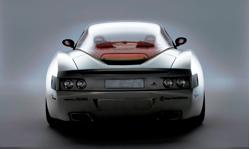 Concept Flashback - 2006 RINSPEED ZaZen is Porsche 911 with Clear Bubble Hardtop 39