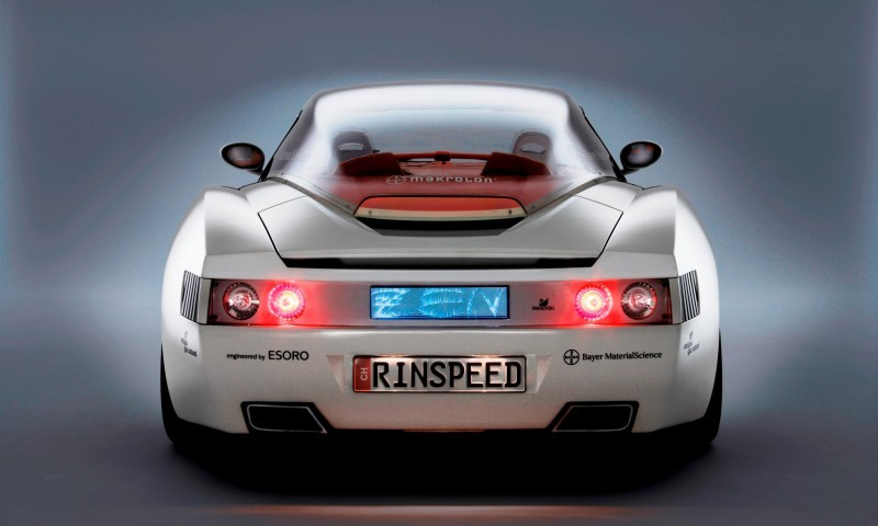 Concept Flashback - 2006 RINSPEED ZaZen is Porsche 911 with Clear Bubble Hardtop 41