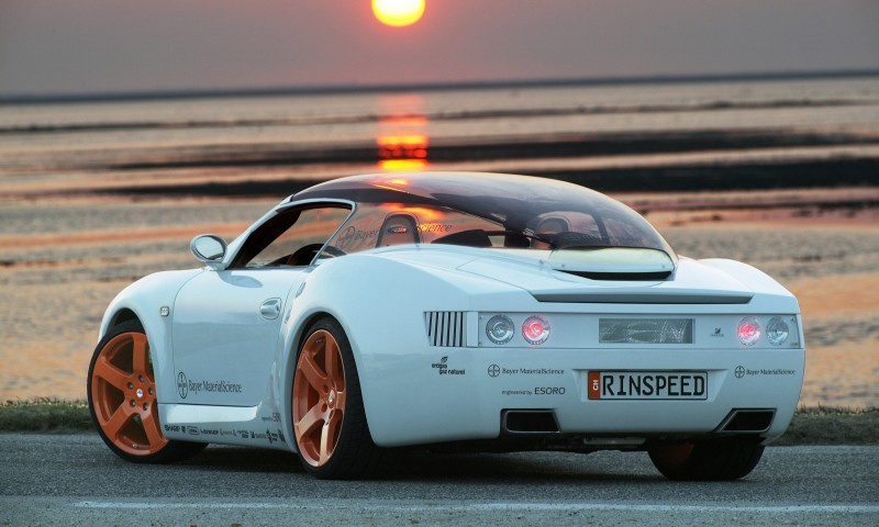 Concept Flashback - 2006 RINSPEED ZaZen is Porsche 911 with Clear Bubble Hardtop 43
