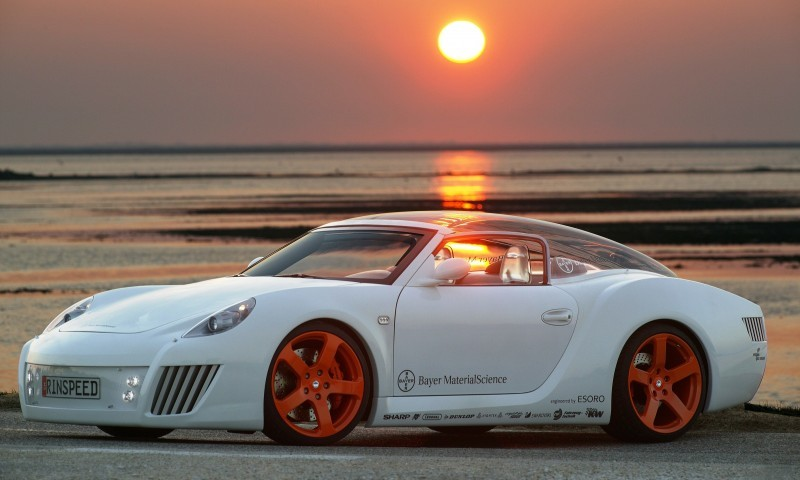 Concept Flashback - 2006 RINSPEED ZaZen is Porsche 911 with Clear Bubble Hardtop 44