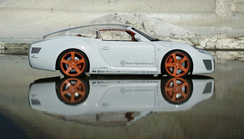 Concept Flashback - 2006 RINSPEED ZaZen is Porsche 911 with Clear Bubble Hardtop 50