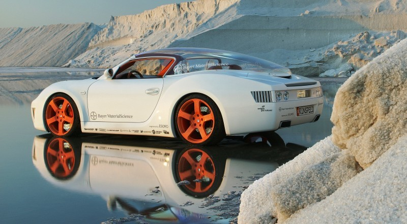 Concept Flashback - 2006 RINSPEED ZaZen is Porsche 911 with Clear Bubble Hardtop 51