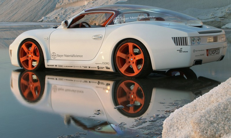 Concept Flashback - 2006 RINSPEED ZaZen is Porsche 911 with Clear Bubble Hardtop 52
