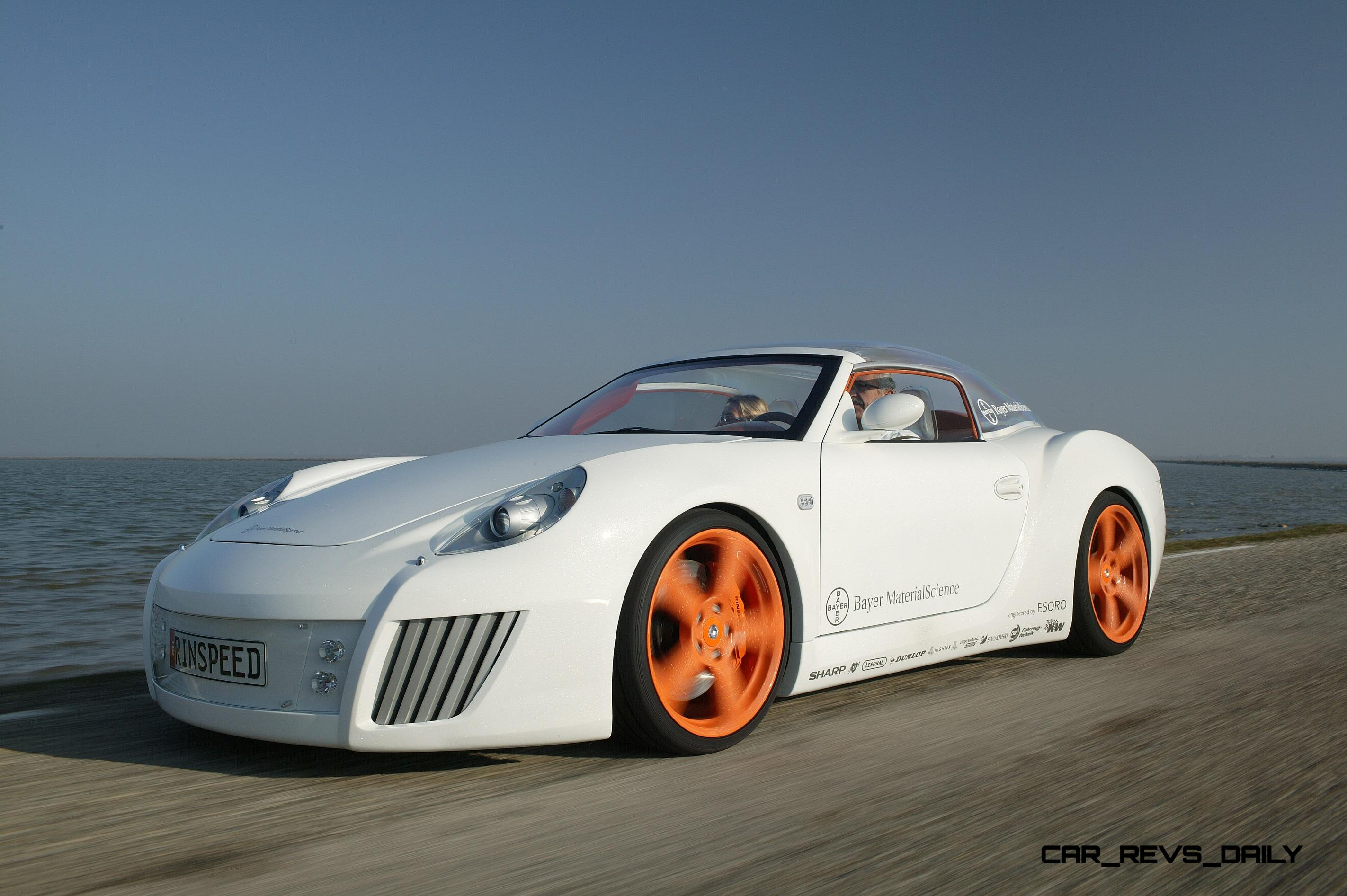 ... Concept Flashback   2006 RINSPEED ZaZen Is Porsche 911 With Clear  Bubble Hardtop 8 ...