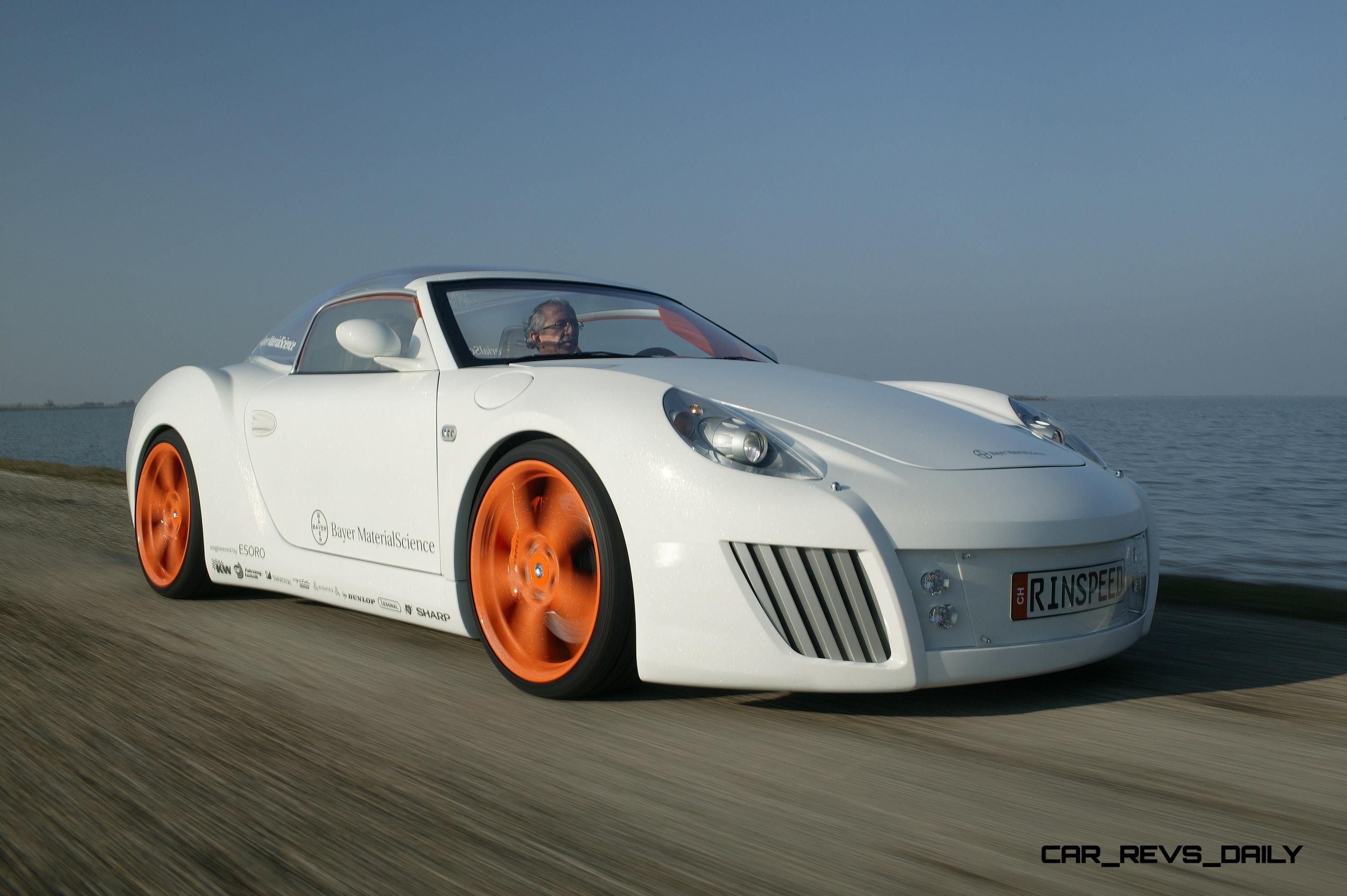 ... Concept Flashback   2006 RINSPEED ZaZen Is Porsche 911 With Clear  Bubble Hardtop 9 ...