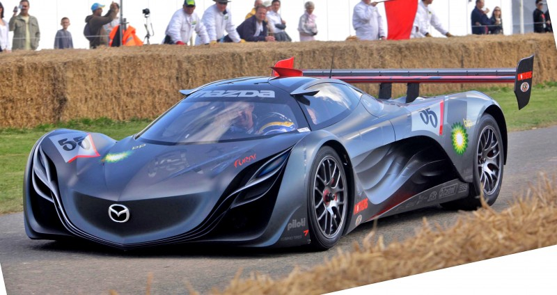 Concept Flashback - 2008 Mazda Furai is 450HP Rotary LMP2 Car That Met Two Tragic Ends 10