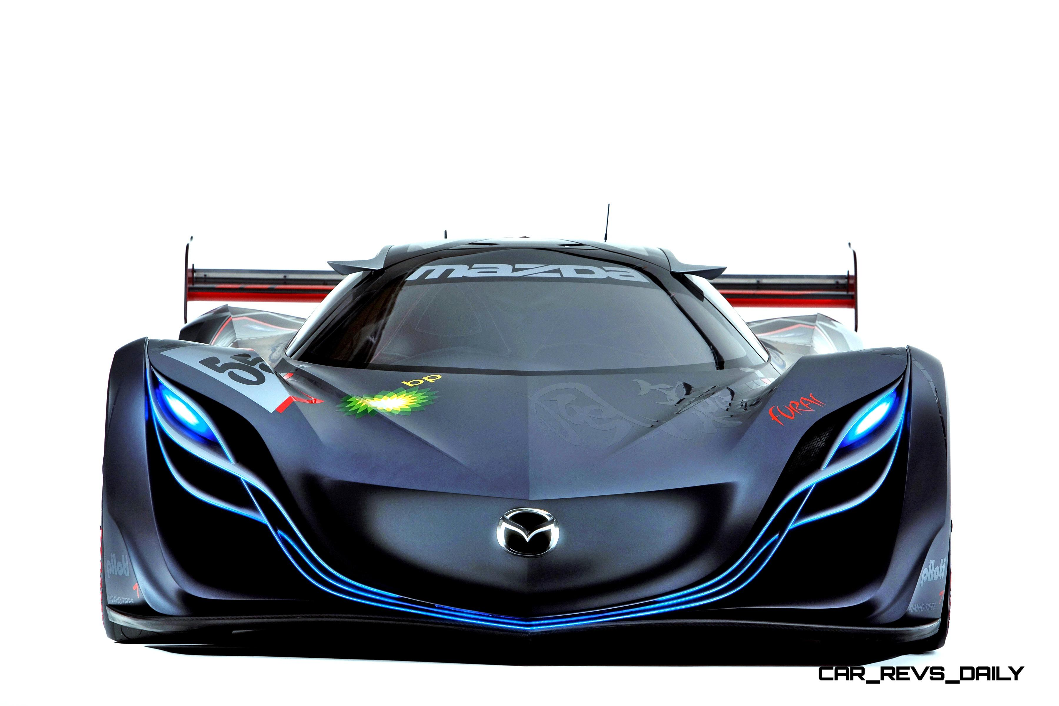Concept Flashback 2008 Mazda Furai Is 450hp Rotary Lmp2