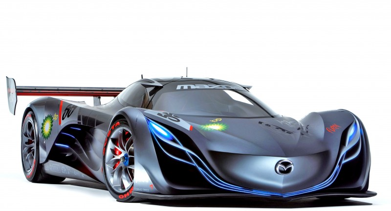 Concept Flashback - 2008 Mazda Furai is 450HP Rotary LMP2 Car That Met Two Tragic Ends 24