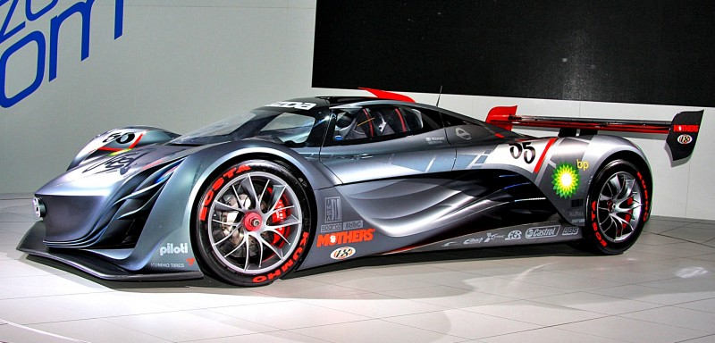 Concept Flashback - 2008 Mazda Furai is 450HP Rotary LMP2 Car That Met Two Tragic Ends 25