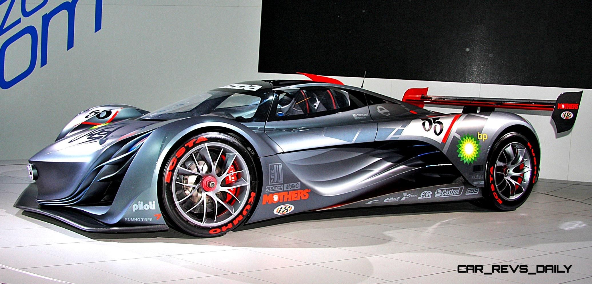Concept Flashback - 2008 Mazda Furai is 450HP, Rotary LMP2 Car That ...