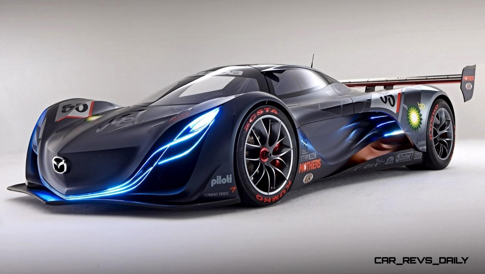 ... Concept Flashback   2008 Mazda Furai Is 450HP Rotary LMP2 Car That Met  Two Tragic Ends