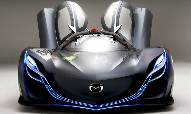 Concept Flashback - 2008 Mazda Furai is 450HP Rotary LMP2 Car That Met Two Tragic Ends 27