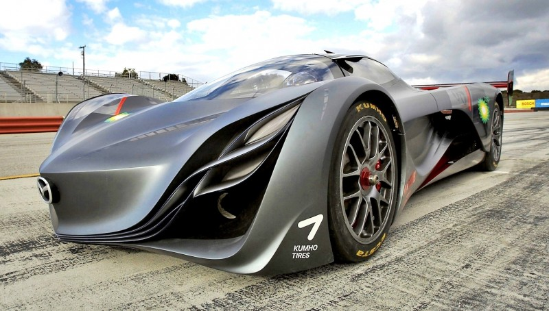 Concept Flashback - 2008 Mazda Furai is 450HP Rotary LMP2 Car That Met Two Tragic Ends 29