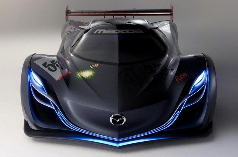 Concept Flashback - 2008 Mazda Furai is 450HP Rotary LMP2 Car That Met Two Tragic Ends 36