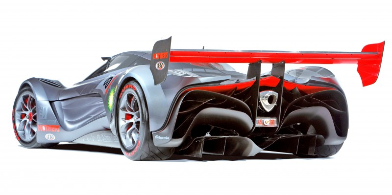 Concept Flashback - 2008 Mazda Furai is 450HP Rotary LMP2 Car That Met Two Tragic Ends 4
