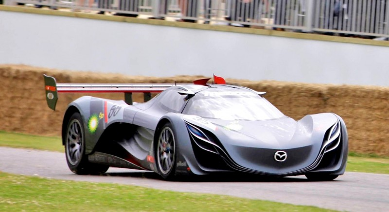 Concept Flashback - 2008 Mazda Furai is 450HP Rotary LMP2 Car That Met Two Tragic Ends 5