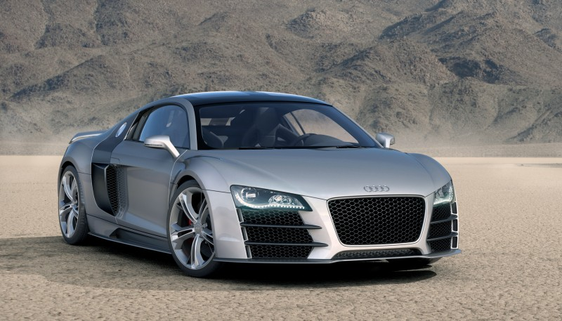 Concept Flashback - 2009 Audi R8 TDI V12 Shows Great Engineering Potential, But Limited Market 11