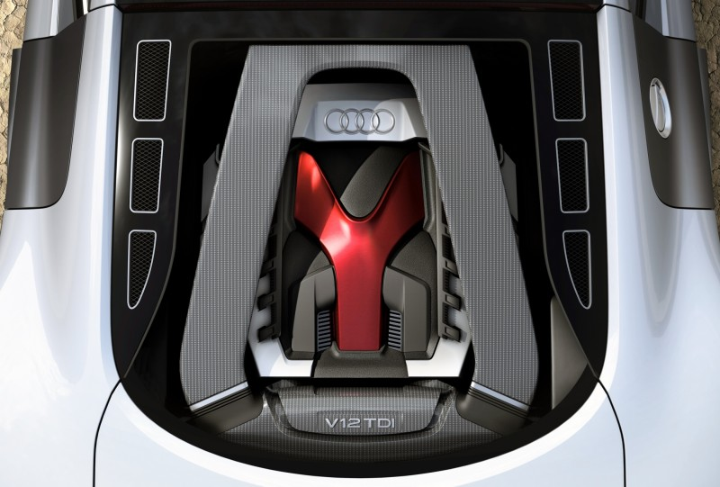 Concept Flashback - 2009 Audi R8 TDI V12 Shows Great Engineering Potential, But Limited Market 2