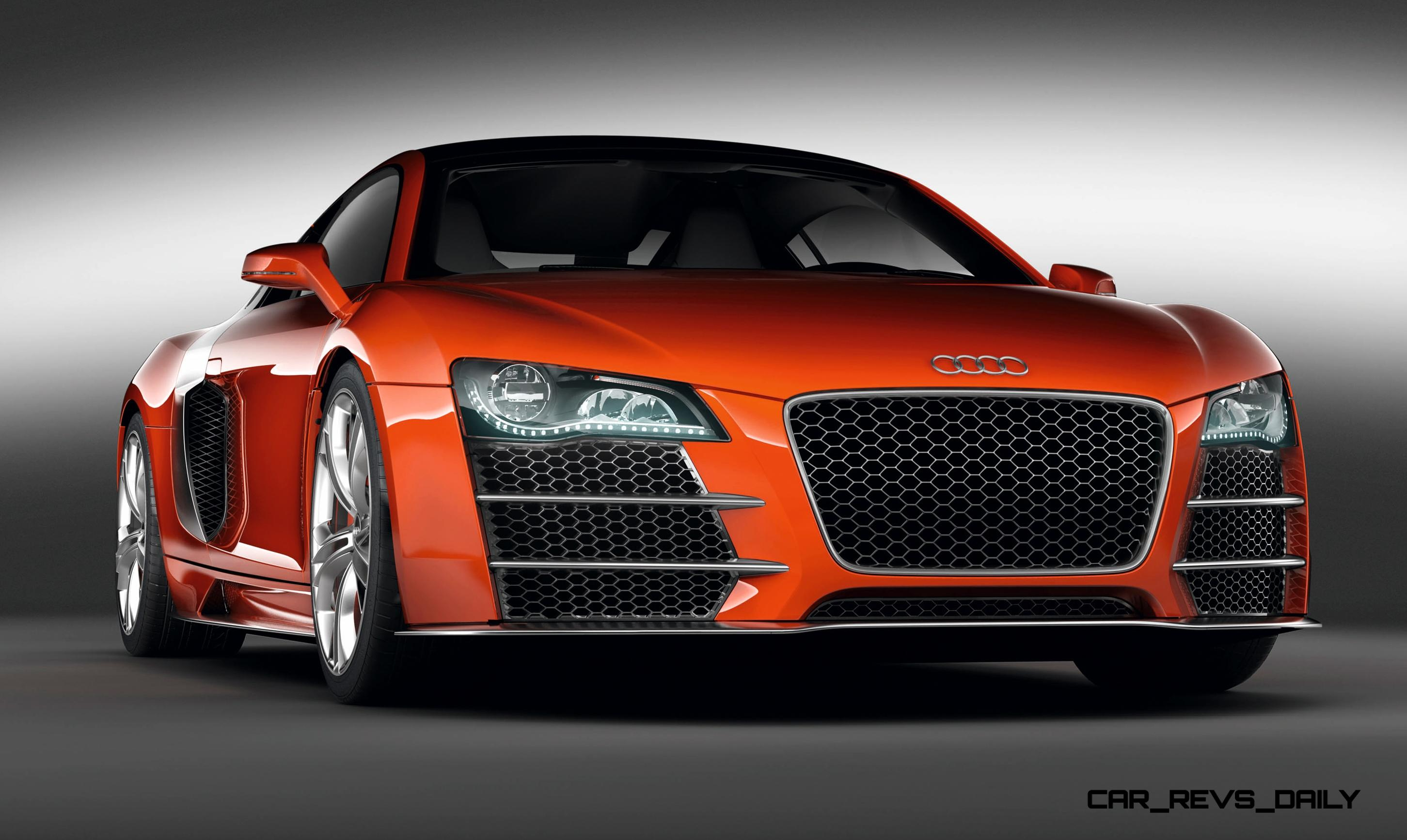 Concept Flashback 2009 Audi R8 TDI V12 Shows Great