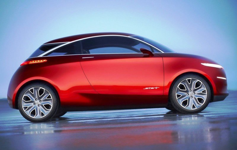 Concept Flashback - 2010 Ford Start - Supermini Previews Potential 2017 Ka 3