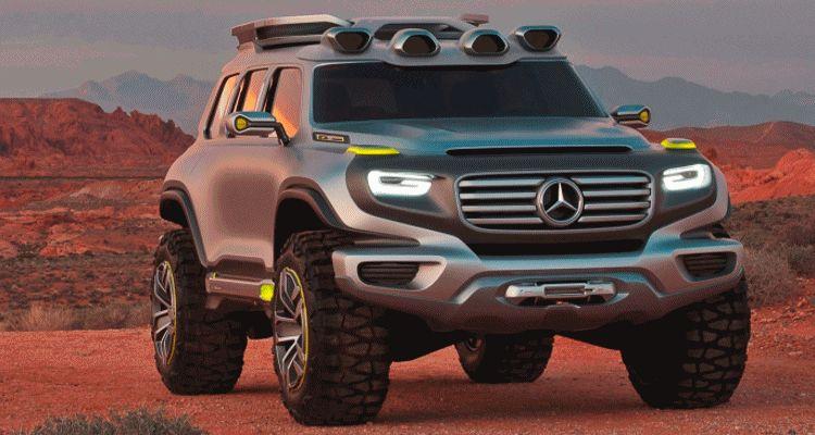 Concept Flashback - 2012 Mercedes-Benz ener-G-wagon GIF1
