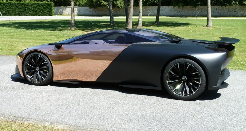 Concept Flashback - 2012 Peugeot ONYX Is Mixed-Media Hypercar Delight 1