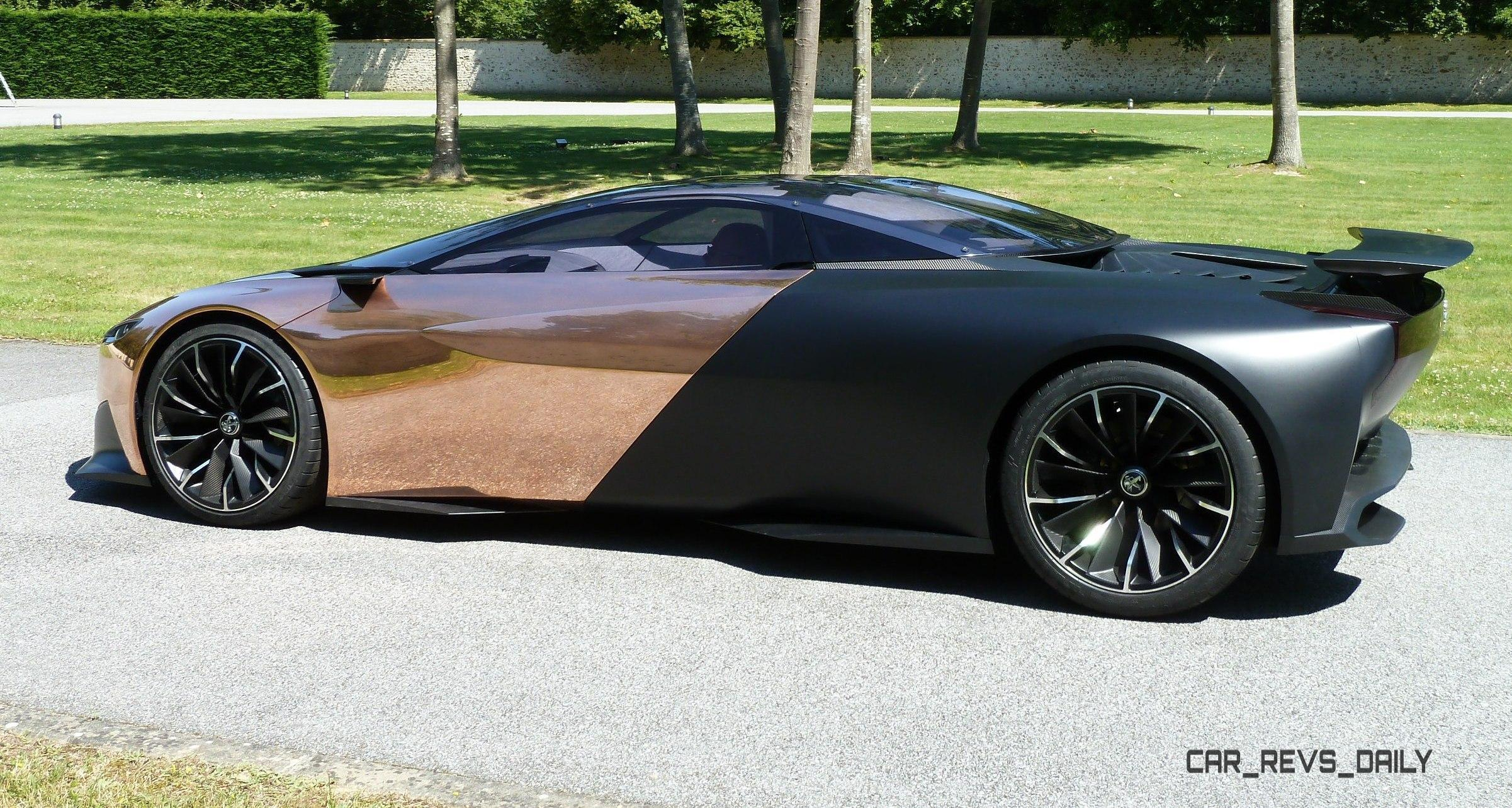 Concept Flashback - 2012 Peugeot ONYX Is Mixed-Media Hypercar Delight 1