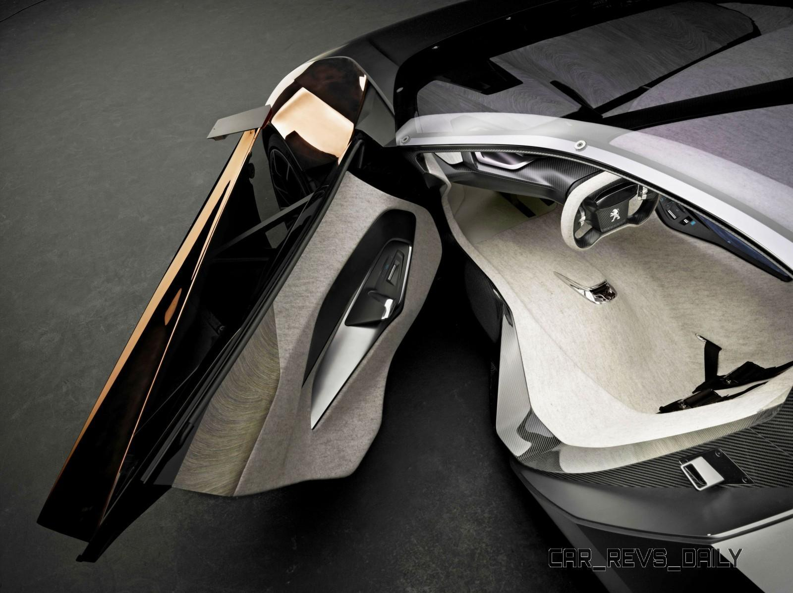 Concept Flashback - 2012 Peugeot ONYX Is Mixed-Media Hypercar Delight 12