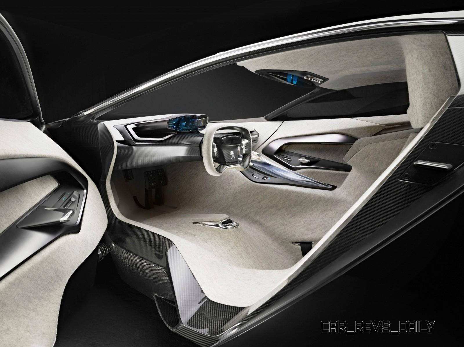 Concept Flashback - 2012 Peugeot ONYX Is Mixed-Media Hypercar Delight 13