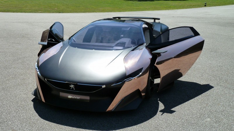 Concept Flashback - 2012 Peugeot ONYX Is Mixed-Media Hypercar Delight 2